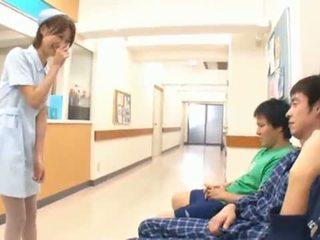 Sleaze Asian Nurse BJing 3 Yonkers In The Hospital