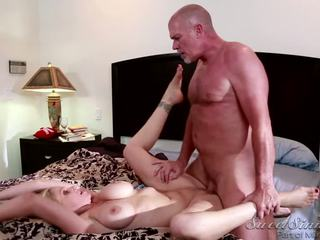 Julia Ann Is Getting Fucked Sweetly By Her Husband In Bed
