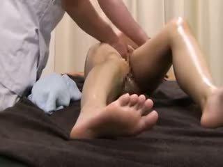 Beauty parlor masáž spycam