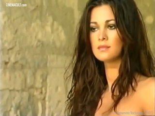 Manuela Arcuri - 2001 Calendar Backstage, Porn d8