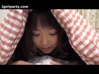 Super น่ารักน่าหยิก และ มีอารมณ์ ญี่ปุ่น 18yo เด็กนักเรียนหญิง