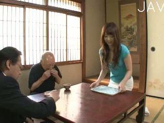 امرأة سمراء, اليابانية, فتاة