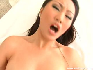 Nude Evelyn Lin Getting So Fucked In Her Taut Twat She Could Not Wait To Cum