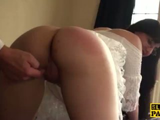 British bdsm sub whipped and spanked <span class=duration>- 10 min</span>