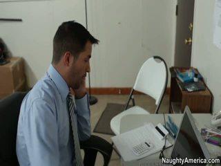 kancelář sex, bez červený dívka porno