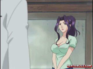 Mam japans hentai gets squeezed haar bigboobs