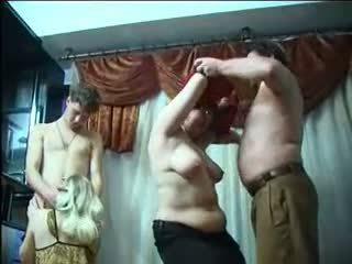 러시아의 진동하는 사람 파티