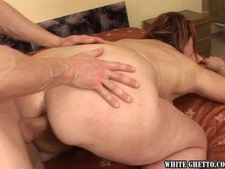 μελαχροινή, bbw, πρωκτικό σεξ