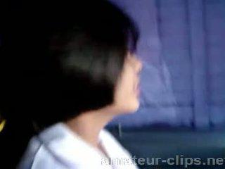 Barmfager thai tenåring getting klar til være knullet