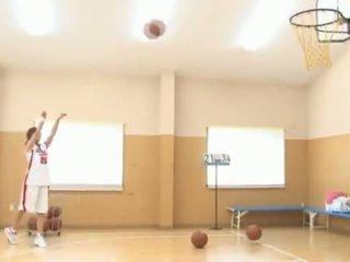 Dissolute Thai Sports Model Kawashima Asuka Pleasuring Basketball Unclothed
