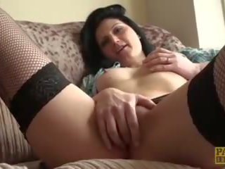 Fingerfucked Brit Moans and Begs