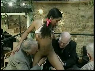 group sex, old + muda, interracial