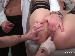 Francozinje špricanje rdečelaske rit inspected doublefist zajebal pri the gyneco