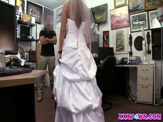 The Bride And Her Wedding Dress In The Pawnshop