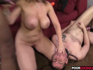 Cornuto guardare sara jay partner multipli con un bbc: gratis porno b0