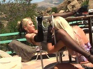 Brittney Skye and her girl outdoor