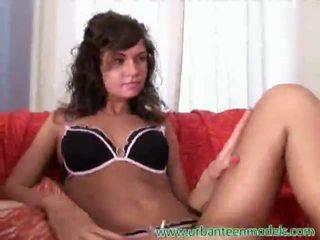 brunette, teen sex, hardcore sex, hard fuck, big dick, big stick