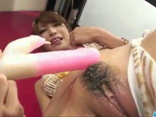 단 aya sakuraba plays 와 장난감 에 거칠게 ways