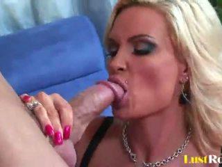 Busty blonde milf Diamond Foxxx loves ...