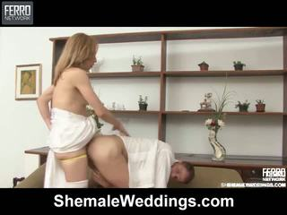 Alessandra edu خنثى زفاف جنس