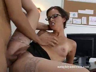 Lusty ออฟฟิศ doxy sara faye receives tthis chab จริง เพศสัมพันธ์ ที่ ผู้หญิงสวย เสมอ อยาก และ craved