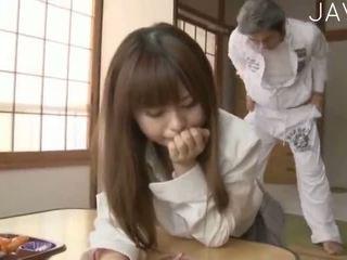 brunetă, japonez, prunc