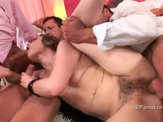 Shlong Avid Johane Johansson Getting Banged Hard On The Twat While Blowing A Cock