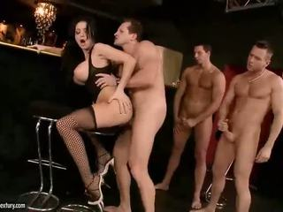 payudara besar, pornstars, stoking
