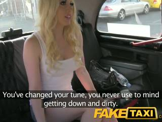 Faketaxi ex moderate still likes it in the bokong
