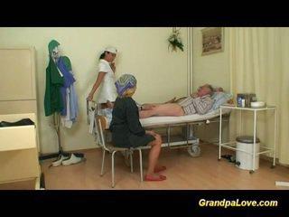 Morfar baben knull den sjuksköterska