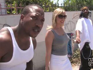 Adrianna nicole gets double banged door blacks