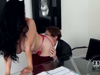 America vs Russia-Big Titty Business Girl Jaylene Rio gets Drilled Hard <span class=duration>- 21 min</span>