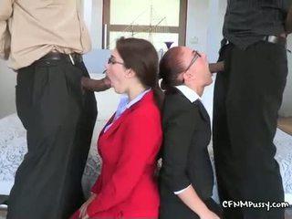 Horký pohlaví po kancelář hours