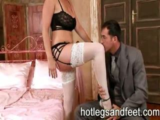 Sexy Girls Wearing Stockings And Get A Hardcore