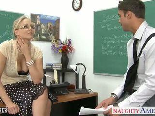 セックス 教師 julia ann クソ