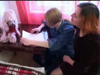 Rita seduced उसकी बेटा