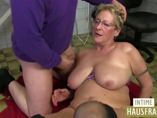 Oma putz: intime hausfrauen & pinxta porno vidéo