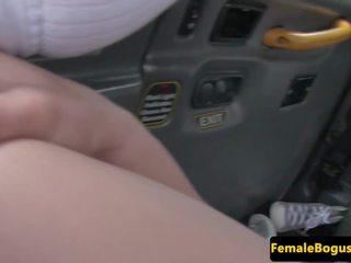 公共ヌード, female fake taxi