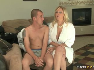 blondinės, big boobs, blowjob