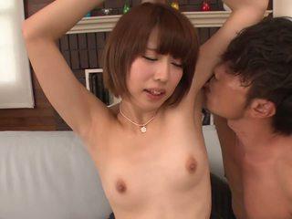 Uncensored leggy Seira Matsuoka stripp...