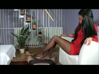 Goddess amy merangsang dengan kaki - bootjob - melakukannya dengan sepatu