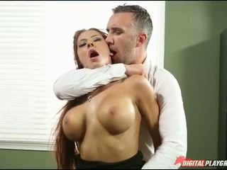 Big tits Madison Ivy fucked and facialed