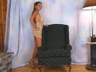 Christina মডেল dance 10, বিনামূল্যে পেন্টির ফাঁক পর্ণ 15