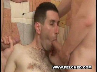 Homo 3 adam döli sorup almak gutarmak from göt to mouth