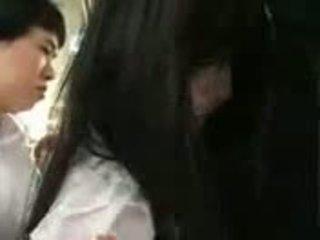 Saori hara ใน the รถไฟ