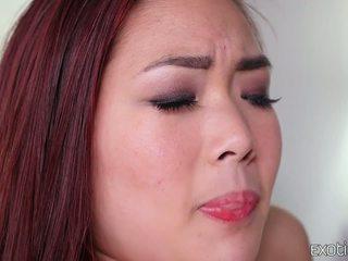 حليق الآسيوية في سن المراهقة lea hart حار اللعنة
