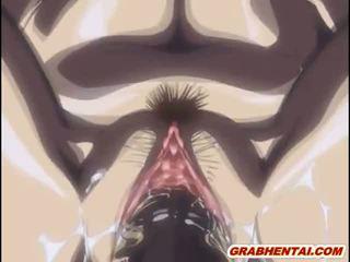 Vergavimas hentai fingeringas wetpussy ir squirting sperma į