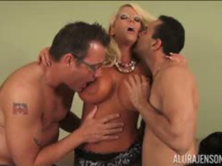 Alura Jenson Takes On Two Cocks Tommy Utah And Gianni