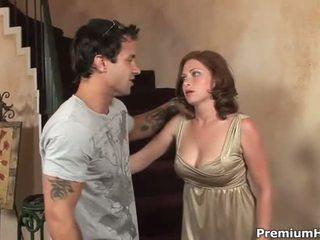Seks met groot mees hottie