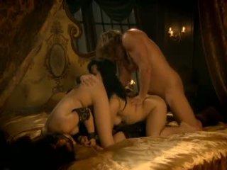 grupu sekss, aptuvens, licking